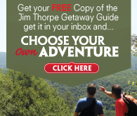 True North Map Company | Carbon County - JIm Thorpe Getaway Guide